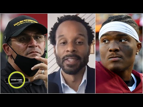 Why did Ron Rivera bench Dwayne Haskins for Kyle Allen vs. the Rams? | Outside The Lines