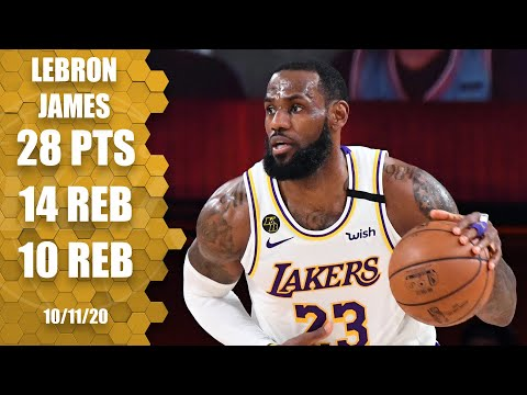LeBron James posts triple-double for Lakers to win NBA title [GAME 6 HIGHLIGHTS] | 2020 NBA Finals