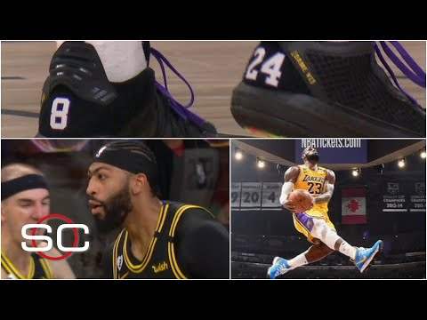 How the Lakers honored Kobe Bryant throughout their NBA championship run | SportsCenter