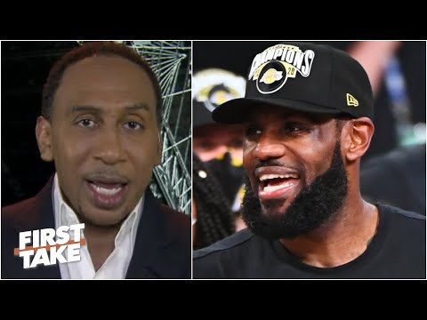 Stephen A. reacts to the Lakers' 2020 championship win: Was this LeBron's most challenging title?