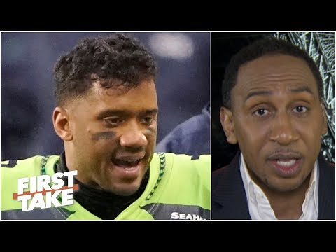 Russell Wilson is 'unleashed' this season & he's leading the NFL MVP race – Stephen A. | First Take