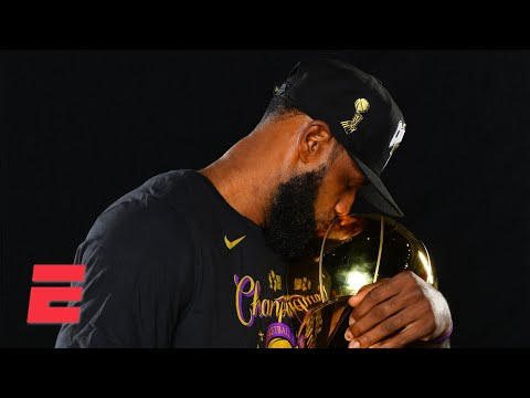 Where does this title rank for LeBron and the Lakers? | KJZ