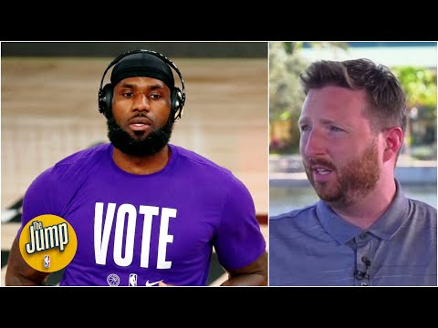 LeBron says he'll 'double-down, if not triple-down' on social justice efforts – McMenamin | The Jump