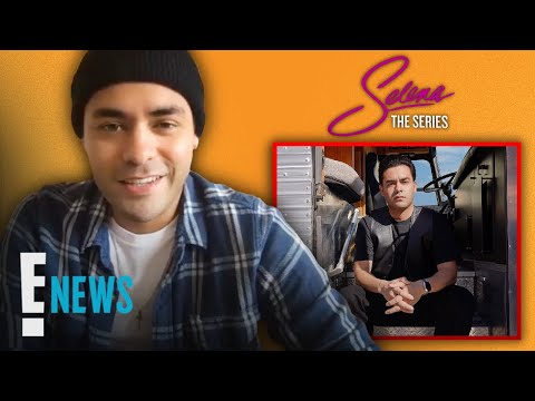Gabriel Chavarria on Playing Selena's Brother A.B. Quintanilla: Ones To Watch | E! News