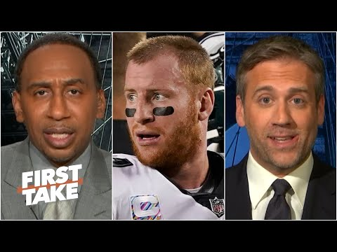 Should the Eagles give up on Carson Wentz? Stephen A. & Max debate | First Take