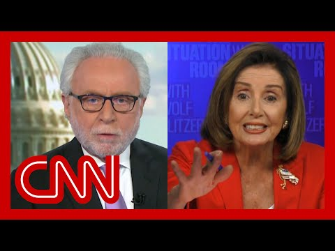 Pelosi interview gets heated: You don't know what you're talking about