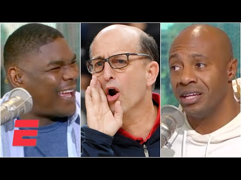 Reacting to reports of Jeff Van Gundy interviewing with the Rockets | KJZ
