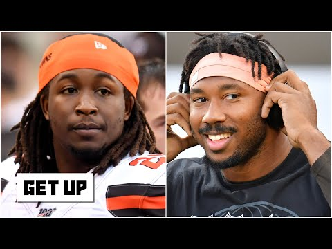 Reacting to Kareem Hunt saying 'This one's for Myles' ahead of Browns vs. Steelers   Get Up