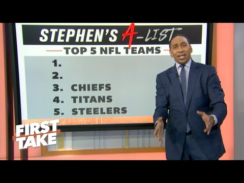Stephen's A-List: Top 5 NFL teams following Week 5