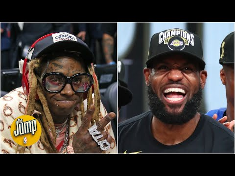 Lil Wayne on whether LeBron and the Lakers will repeat: 'Do birds fly?' | The Jump