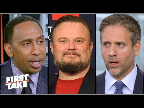 Stephen A. & Max react to Daryl Morey stepping down as Rockets GM | First Take