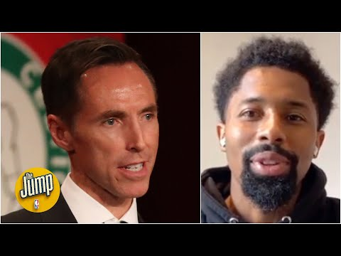 Spencer Dinwiddie reacts to the Nets hiring Steve Nash as head coach | The Jump