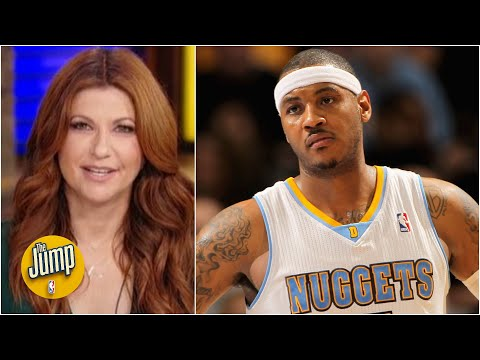 Did the Nuggets snub Carmelo Anthony on an 'all-time favorites' graphic? | The Jump