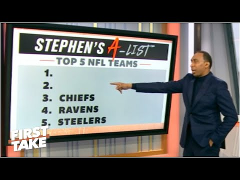 Stephen's A-List: Top 5 NFL teams following Week 6