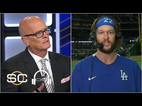 Clayton Kershaw joins SVP after dominant Game 1 start | SC with SVP