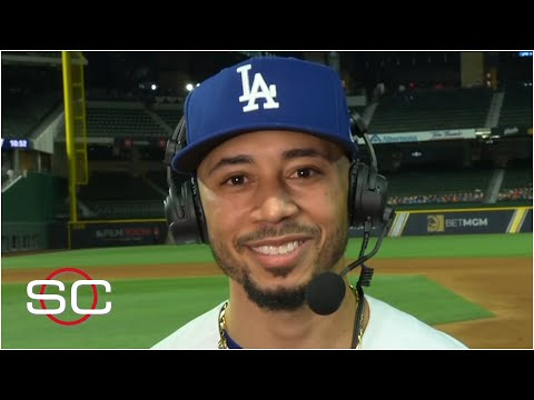 Mookie Betts speaks on his versatility after Dodgers' Game 1 win | SportsCenter