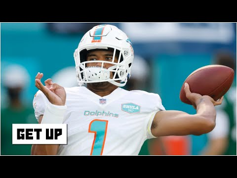 Tua Tagovailoa's Alabama highlights show how he will impact the Dolphins' offense | Get Up