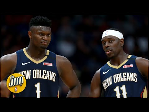 Does Jrue Holiday still fit in with Lonzo Ball and Zion Williamson on the Pelicans? | The Jump