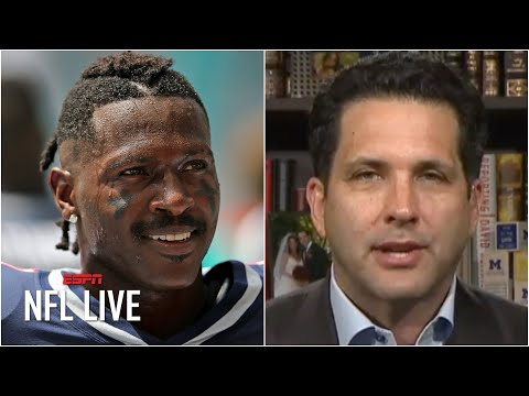 The Seahawks are positioned to make a push to sign Antonio Brown – Adam Schefter | NFL Live