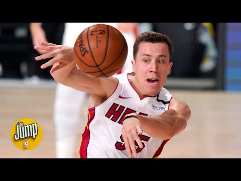The Lakers bench was yelling 'Jimmy Neutron' at Duncan Robinson during the NBA Finals | The Jump