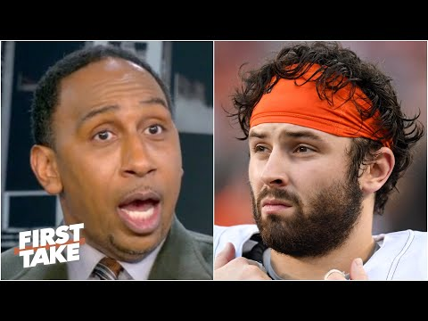 Stephen A. responds to Baker Mayfield's comments about the media | First Take