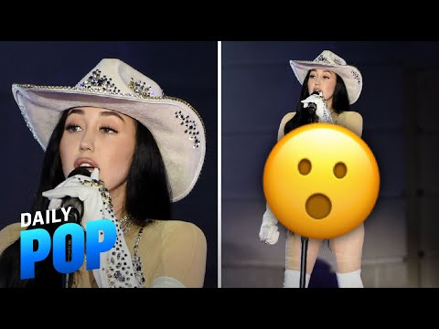 See Noah Cyrus' Nearly Naked CMT Performance   Daily Pop   E! News