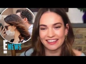 Lily James Makes First TV Appearance Since Dominic West Drama | E! News