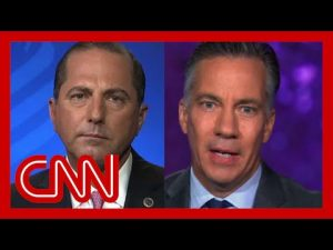 Alex Azar clashes with Jim Sciutto over pandemic response