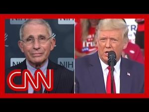 Dr. Fauci responds to President Trump's latest attack