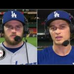 Max Muncy and Corey Seager reflect after Dodgers' Game 5 win | Baseball Tonight