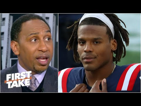 Stephen A. is worried about Cam Newton, says its time for the Patriots to 'panic' | First Take