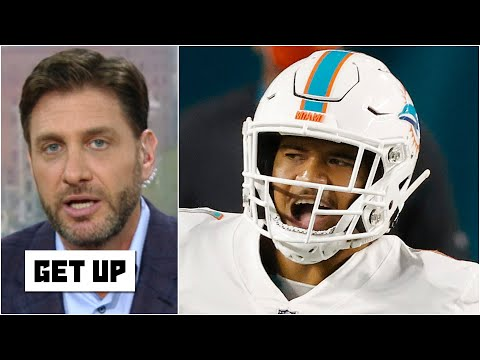 Greeny: Tua Tagovailoa is under more pressure than Joe Burrow and Justin Herbert combined! | Get Up