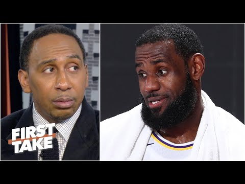Stephen A. reacts to Danny Green suggesting LeBron may skip the start of the season | First Take