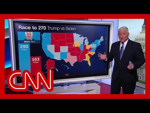 Road to 270: John King breaks down latest numbers a week before Election Day