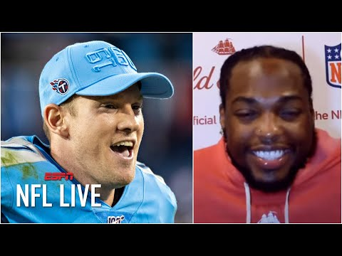 Derrick Henry says Ryan Tannehill, not him, deserves to be in MVP conversation | NFL Live