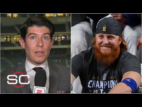 Justin Turner pulled from Game 6 after positive COVID-19 test | SportsCenter