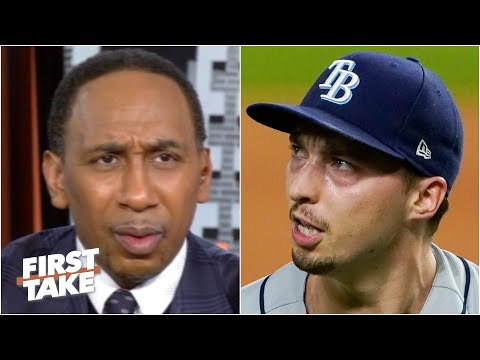 It was an 'inexcusable' decision! – Stephen A. on Rays benching Blake Snell in Game 6 | First Take