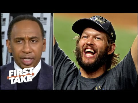 We'll never look at Clayton Kershaw the same again – Stephen A. Smith | First Take