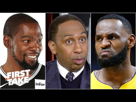 LeBron is going to be waiting for you! – Stephen A. to Kevin Durant | First Take