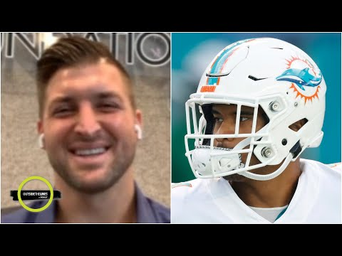Tim Tebow on Tua Tagovailoa being the only left-handed QB in the NFL | OTL