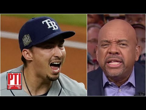 Mike Wilbon goes off on the Rays' manager for pulling Blake Snell vs. Dodgers | PTI