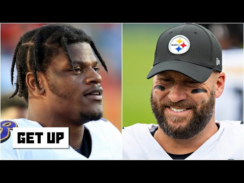 Lamar Jackson will face Ben Roethlisberger for the 1st time in Week 8 | Get Up