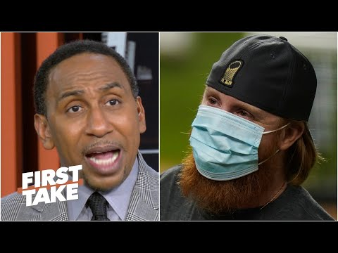 MLB should NOT punish Justin Turner for his actions – Stephen A. | First Take