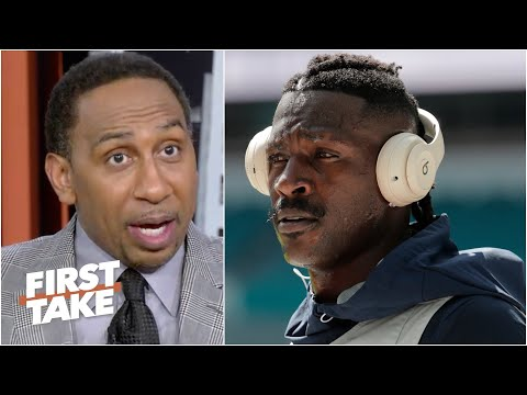 'Antonio Brown is a grown man!' – Stephen A. isn't holding Tom Brady accountable for AB | First Take