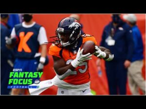 Broncos vs Jets fantasy preview  | Fantasy Focus Live
