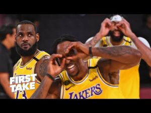 Stephen A. & Max react to Lakers vs. Heat Game 1: What went wrong for Miami? | First Take