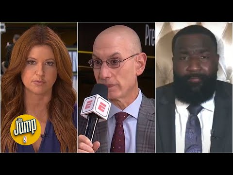 The Jump reacts to Adam Silver's comments in NBA continued efforts for social justice