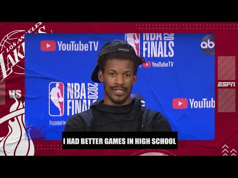 Jimmy Butler: My 40-point triple-double probably wasn't my best game | 2020 NBA Finals