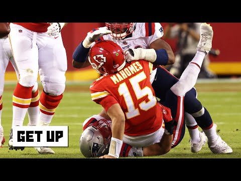 The sack call on Patrick Mahomes was an 'absolute trash call' – Jeff Saturday | Get Up