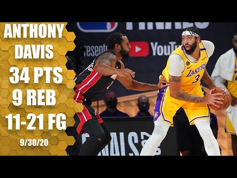 Anthony Davis leads Lakers with 34 points vs. Heat [GAME 1 HIGHLIGHTS] | 2020 NBA Finals